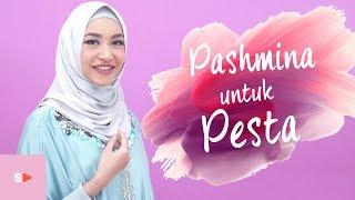 Tutorial Hijab Elegan Dan Simple Untuk Pesta