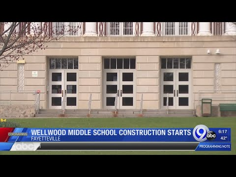 Wellwood Middle School construction starts