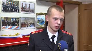 Урок мужества в Читинском Суворовском училище