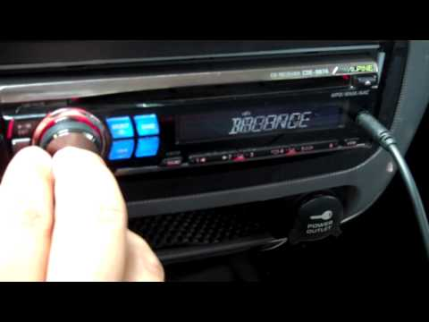 hqdefault alpine cde 9874 installation radio cd alpine cde 9874 wiring diagram at mifinder.co
