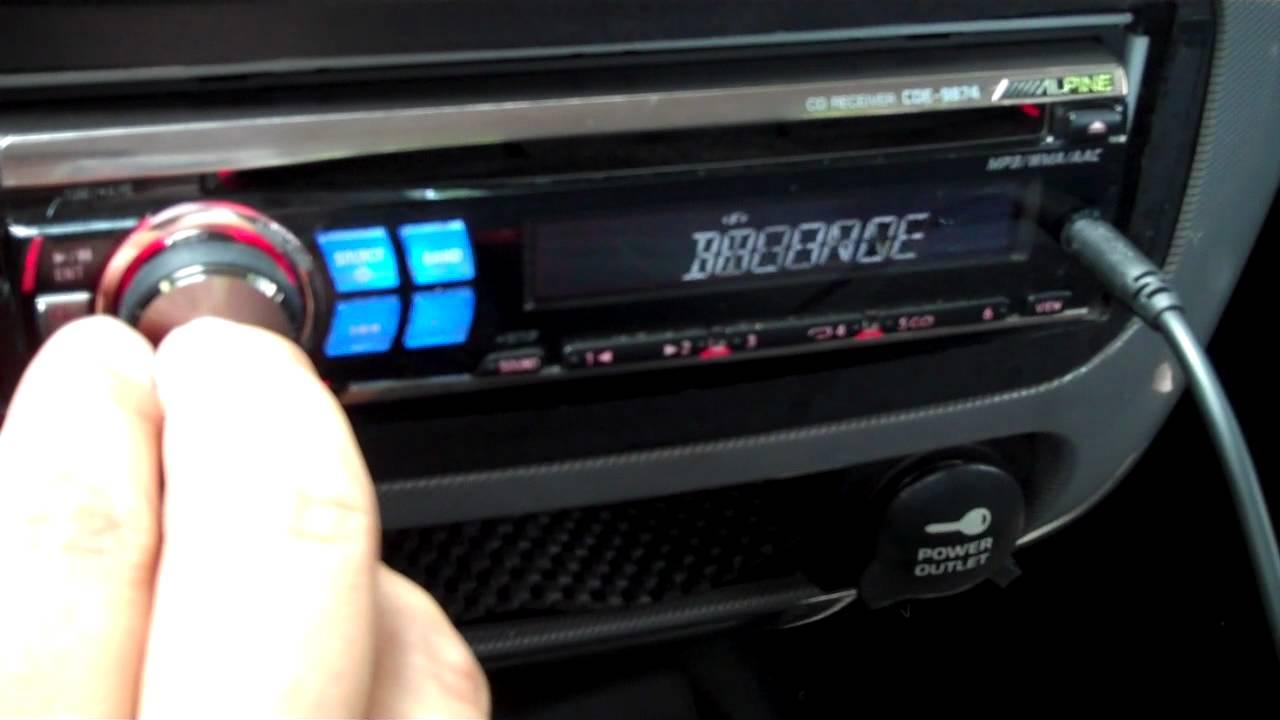 alpine cde 9874 wiring diagram alpine cde 9874 radio cd support and manuals  alpine cde 9874 radio cd support