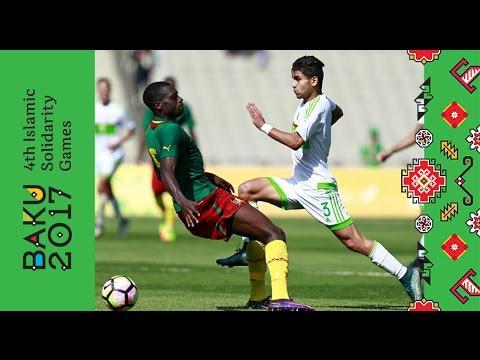 Algeria vs Cameroon | Bronze medal match | Baku 2017