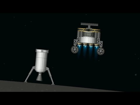 First Electric Rocket on Moon // Spaceflight Simulator 1.35 Update