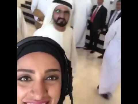 Funny action of Sheikh Rashid bin Mohammed bin Rashid Al Maktoum