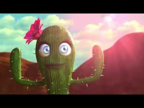 Короткометражный мультик - про кактусы Пустынный