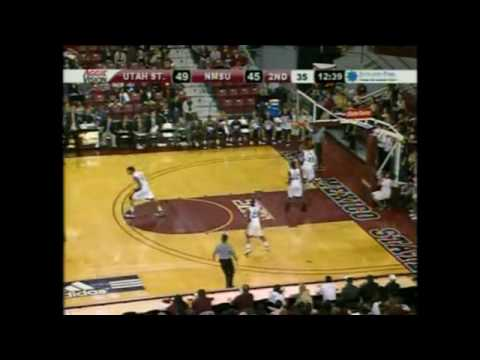 Jared Quayle Breakaway Layup vs. New Mexico State