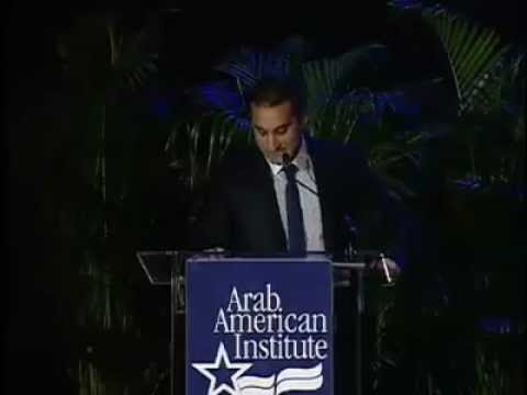 Bassem Youssef at the Arab American Institute | Ultras Bassem Youssef