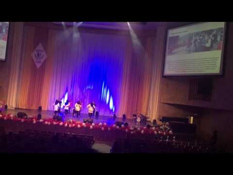 Orlapei dance of Maluku island | Pelita Cinta Nusantara | Moscow 2016