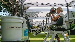 North Bay Gym Owner Turns Fitness Center Inside Out to Make Most of Pandemic