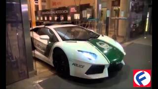 The World's Fastest Police Cars Dubai 2015