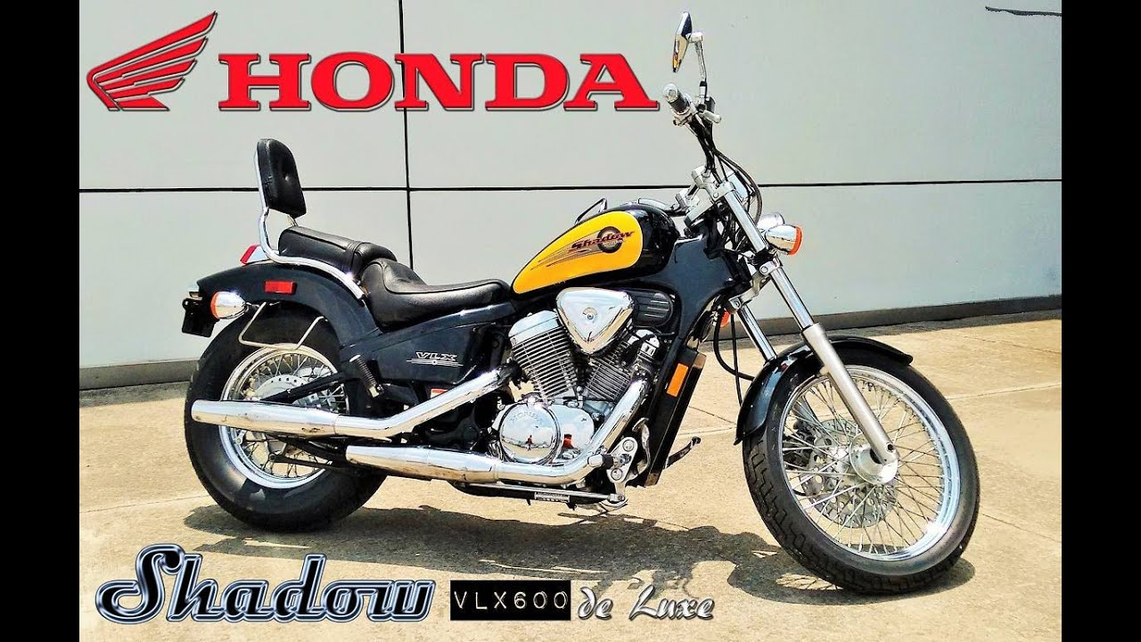 honda shadow vlx 600 deluxe 1997 de colecci n youtube. Black Bedroom Furniture Sets. Home Design Ideas