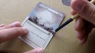 Magic the Gathering Alter Tutorial: Wrath of God