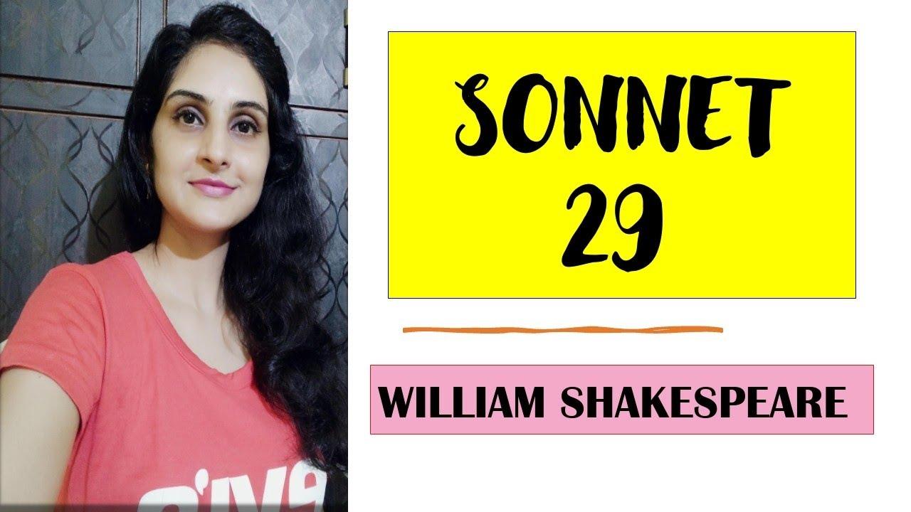 SONNET - 29 / WILLIAM SHAKESPEARE