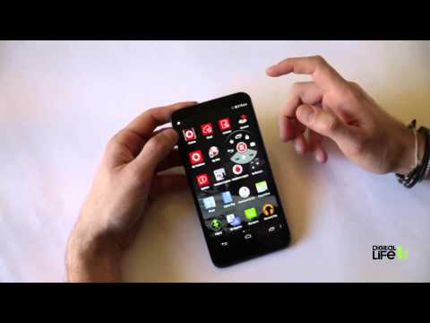 Vodafone Smart 4 Max hands-on review (Greek)