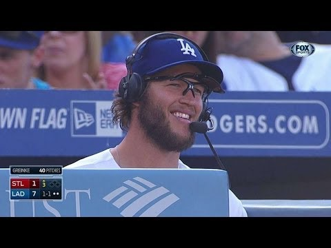 Dodgers mess with Kershaw's interview