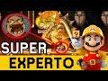 Vas a SENTIR el NERVIOSISMO 😱 !! - SUPER EXPERTO NO SKIP | Super Mario Maker en Español - ZetaSSJ