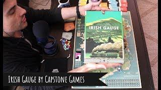 Irish Gauge Review: Capstones New Light 18xx Train Game