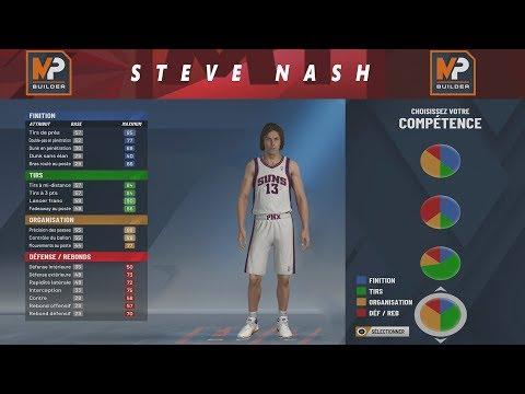 NBA 2K20 - BUILD STEVE NASH !