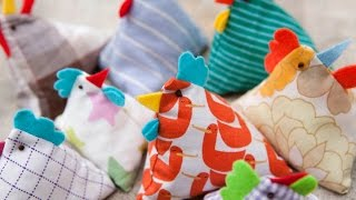How to Make Pyramid Bean Bag Chickens for Juggling