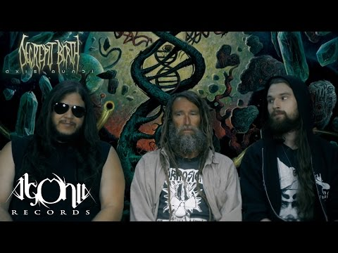 DECREPIT BIRTH - Album Recording: Axis Mundi (Official In-Studio Video #1)