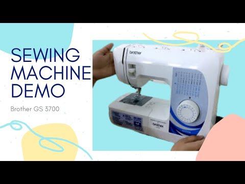 [Hindi] My sewing machine demo | Brother's GS3700