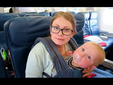 TIPS FOR FLYING WITH A BABY & TODDLER!