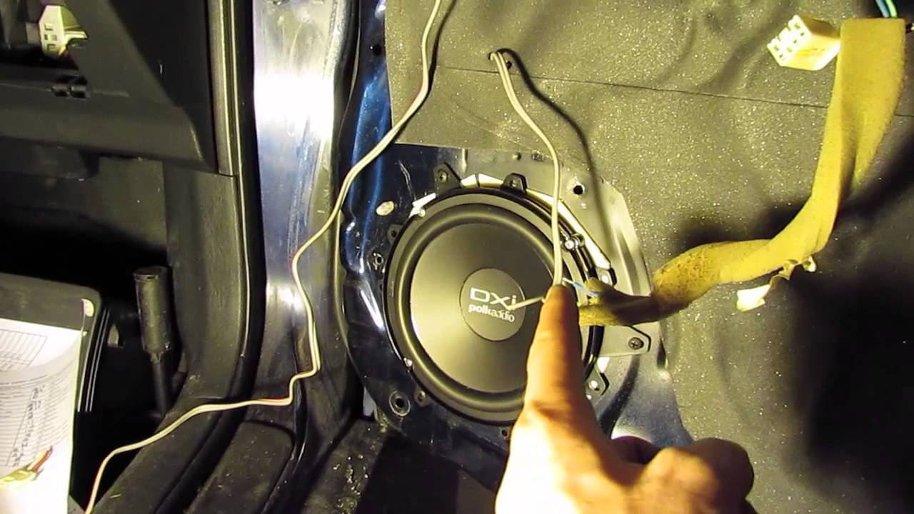 Amplifier And Speaker Wiring Diagram Pontiac Vibe Speaker And Radio Upgrade Tips And Ideas