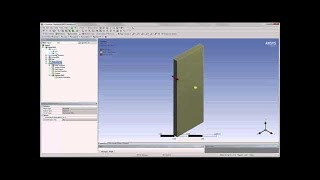 ANSYS Two Way Fluid Structure Interaction Part 1