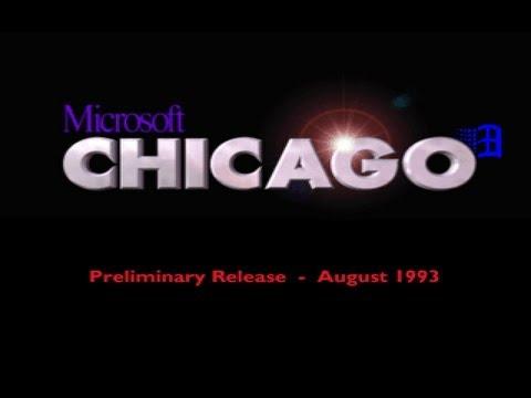 microsoft chicago windows 95 august 93 prebeta build