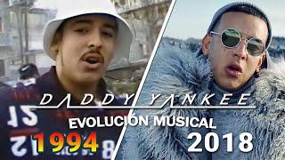 """Daddy Yankee - Evolución Musical (1994 """"Mi Funeral"""" - 2018 """"Hielo"""")"""