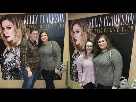 Kelly Clarkson Meaning Of Life Tour!! // Sarah Clifton