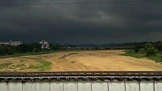 2000TH VIDEO: Arrival of Monsoon in Kerala - TRAIN IN RAIN