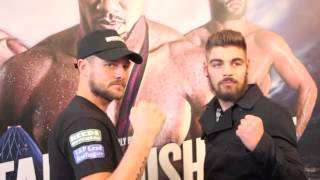 TYLER GOODJOHN v JOHN WAYNE HIBBERT - HEAD TO HEAD @ PRESS CONFERENCE / CAPITAL PUNISHMENT