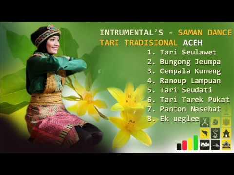 INTRUMEN TARI SAMAN ACEH / SAMAN DANCE - LIRIK LAGU TRADISIONAL ACEH
