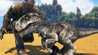 Ark Survival Evolved - NEW INDORAPTOR TAMING & BREEDING! BABY …