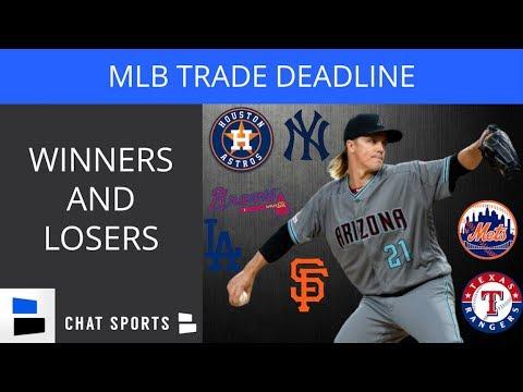 2019 MLB Trade Deadline Winners & Losers – Astros, Yankees, Dodgers, Mets, Rangers, Braves, Giants