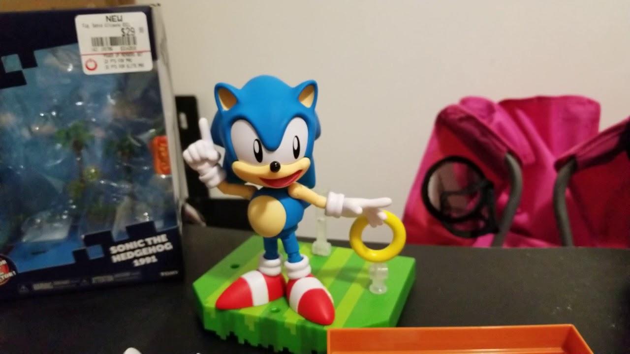 Classic 1991 Ultimate Sonic Figure Youtube