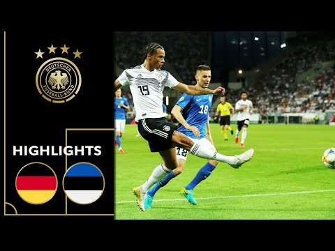 Rousing Attacking Football   Germany - Estonia 8-0  Highlights   Euro Qualifiers