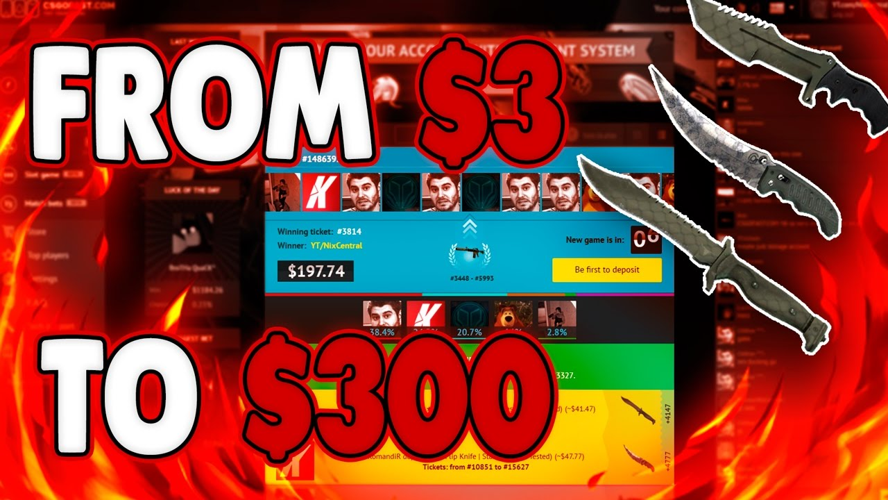 Csgo betting biggest winners how to run a world cup betting pool