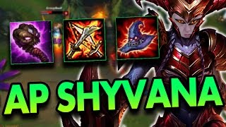 FULL AP SHYVANA MID?! - League of Legends Commentary