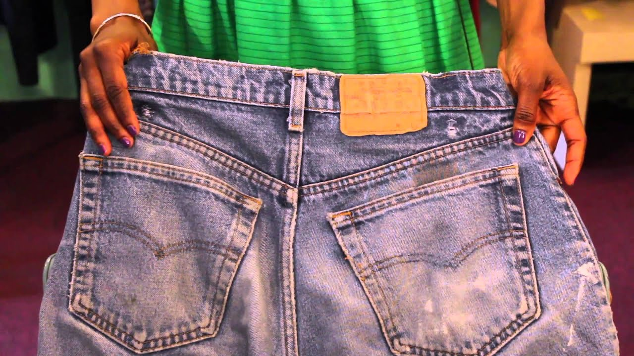afb8dafb6f8 How to Identify Vintage Levis   Vintage Style - YouTube