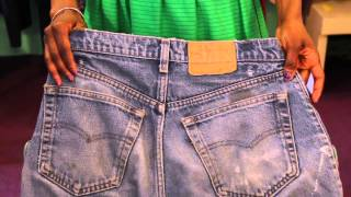 How to Identify Vintage Levis : Vintage Style