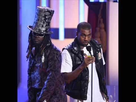 T Pain feat Kanye West - Flight School (NEW 2009) HQ & LYRICS