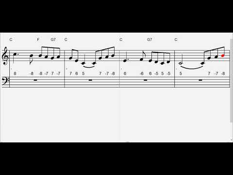 Danny Boy  Play-along with sheet music and Chromatic Harmonica Tabs