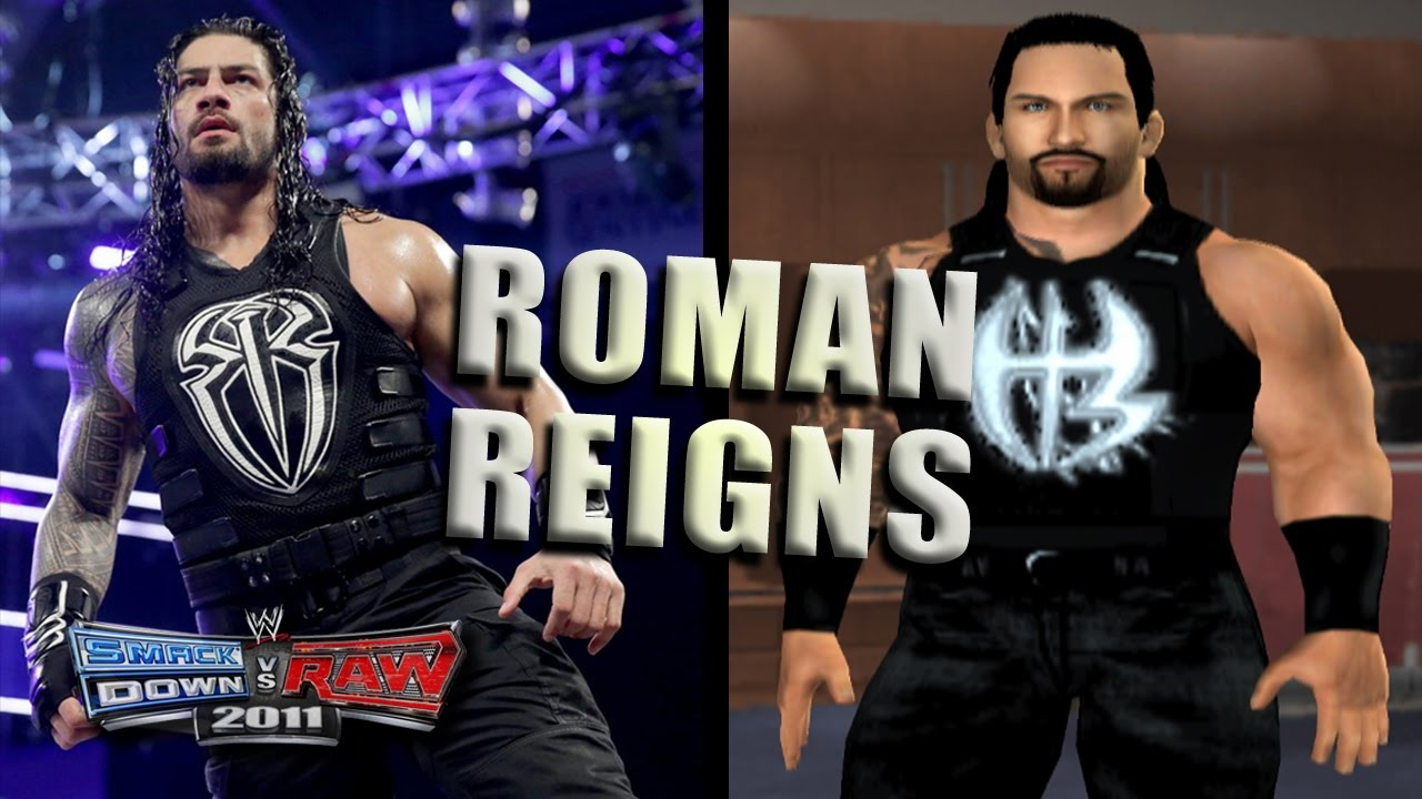 how to create roman reigns in svr 2010