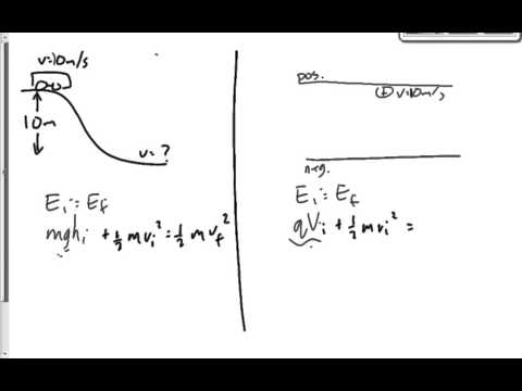 (214-13F) Conservation of Energy With Charges