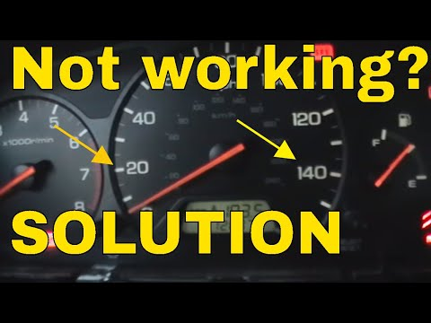 2003 honda crv radio wiring diagram flasher 12v illumination not working * how to fix instrument cluster lights - youtube