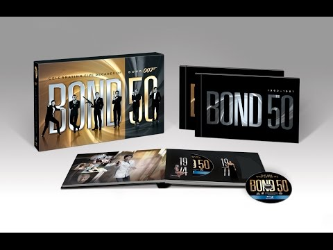"Распаковка Blu-ray Джеймс Бонд ""Бонд 50"" коллекционное издание / James Bond 50 collector's edition"