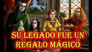 La historia de los fundadores de Hogwarts.