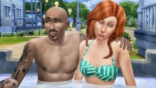 FLIRTING IN MY NEW HOT TUB! The Sims 4 Console Gameplay Ep. 3